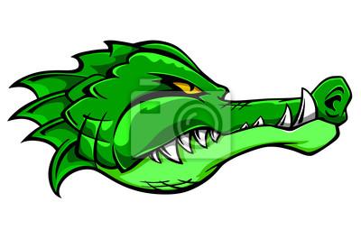 Maskotka Crocodile