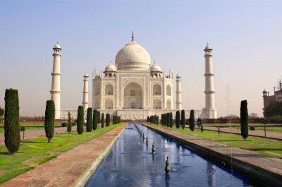 Plakat Mauzoleum Taj Mahal, Agra, Indie