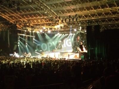 Plakat Metallica live Cape Town