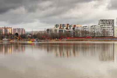 Plakat Miasto Rzeszów, rzeka Wisłok