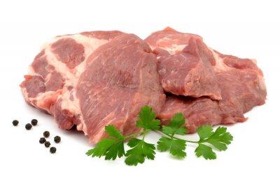 Plakat Mięso wieprzowe karkówka