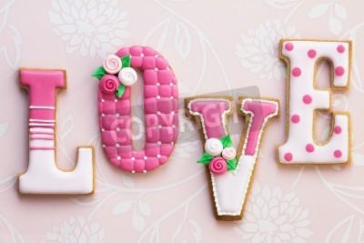 Plakat Miłość ciasteczka