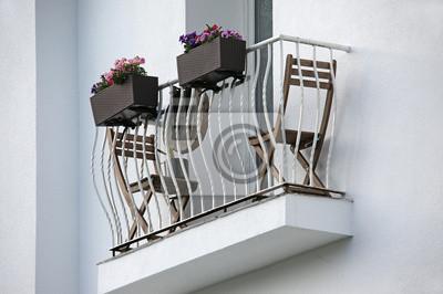 Mini Balkon mini balkon plakaty na ścianę plakaty izolacja perspektywy