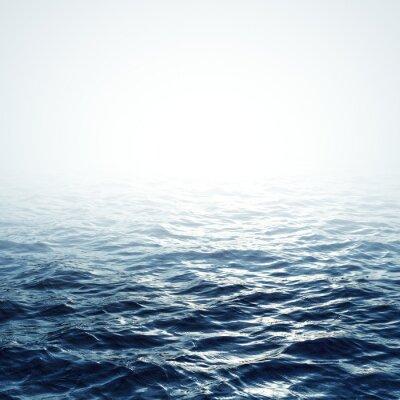 Plakat Morze w tle