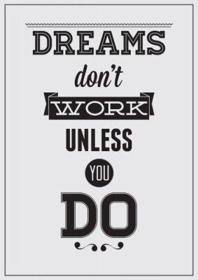 Plakat Motivation