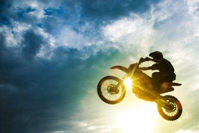 Plakat Motocross Bike Jump