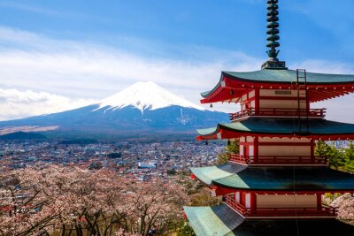 Plakat Mount Fuji, Japonia