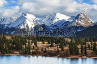 Plakat Mountain Landscape in Colorado Rocky Mountains, Colorado, United States.