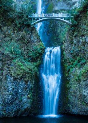 Plakat Multnomah Falls w Columbia Gorge