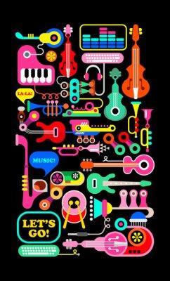 Plakat Musical Composition