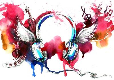 Plakat muzyka