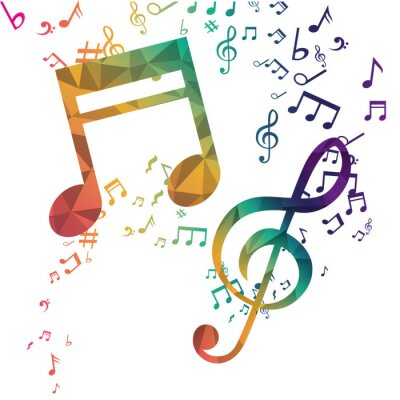 Plakat Muzyka i udźwiękowienie