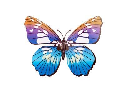 Plakat naklejki ścienne Butterfly