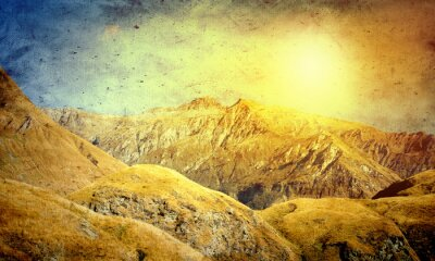 Plakat Naturalny krajobraz