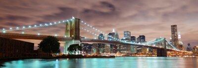 Plakat New York City panorama