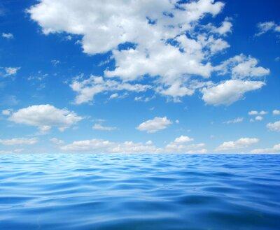 Plakat Niebieskie wody morskiej