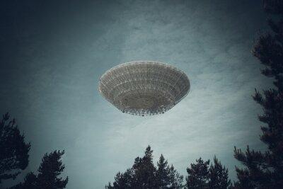 Plakat Niezidentyfikowany obiekt latający