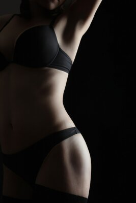Plakat Nude woman sexy body erotic