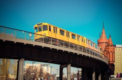 Plakat Oberbaumbrücke