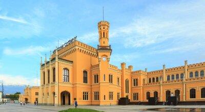 Plakat Odrestaurowany Dworzec Główny we Wrocławiu