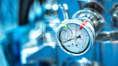 Plakat Panel pomiaru ciśnienia