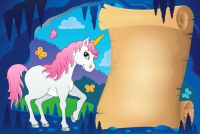 Plakat Pergamin w bajkowej jaskini obraz 7