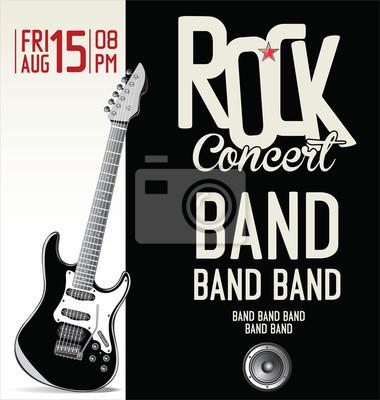 Plakat Plakat Koncert Rockowy