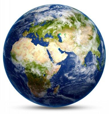 Plakat Planet świecie