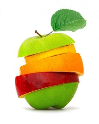 Plakat Plasterki owoców