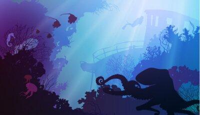 Plakat Podwodny