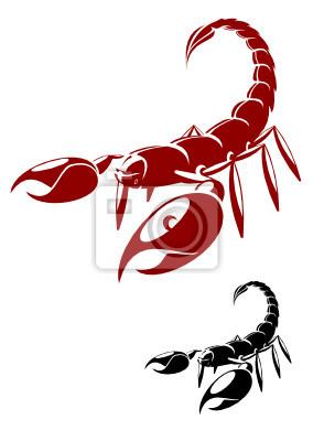 Pojedyncze skorpion niebezpieczeństwo stanowią