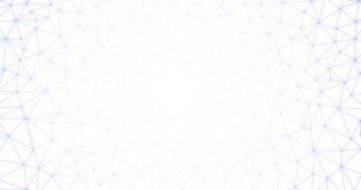 Półtonów abstrakcyjne kropki połączone wielokąt geometrii kształtu siatki futurystyczne tło- Nadaje się do technologii, sieci, krypto koncepcji waluty.