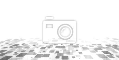 Półtony streszczenie futurystyczny nowoczesny prostokąt kwadratowy wielokąt geometryczny kształt tła. Perspektywa 3D. Dla tematu kryptowaluty, sieci, biznesu i technologii