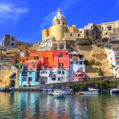 Plakat Procida, Isola nel Mar Mediterraneo, Napoli