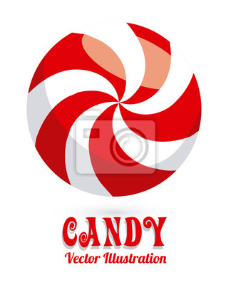 Plakat Projekt cukierków