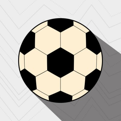 Plakat projekt piłka nożna