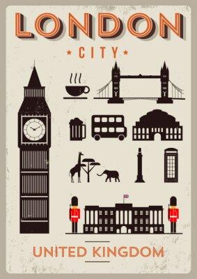 Plakat Projekt plakatu London City