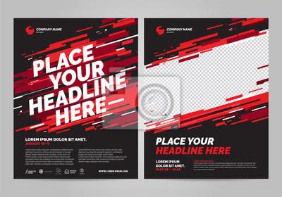 Plakat Projekt plakatu sportowego szablon zaproszenia. Można dostosować do broszury, raportu rocznego, magazynu, plakatu.