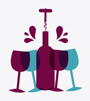 Plakat Projekt Wine.
