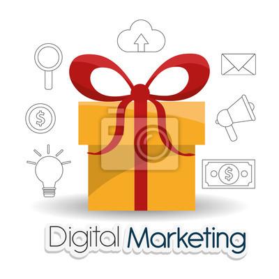 Plakat projektowanie Digital Marketing
