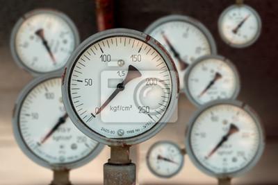 Plakat Przyrząd do pomiaru ciśnienia