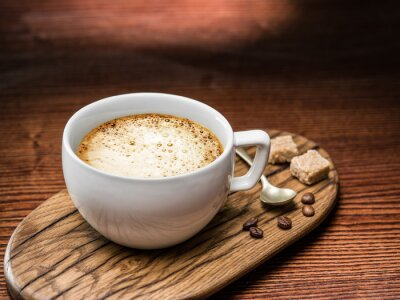 Plakat Puchar cappuccino.