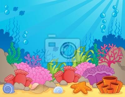 Plakat Rafa Koralowa Motywu Obrazu 4