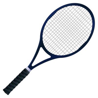 Plakat Rakieta tenisowa