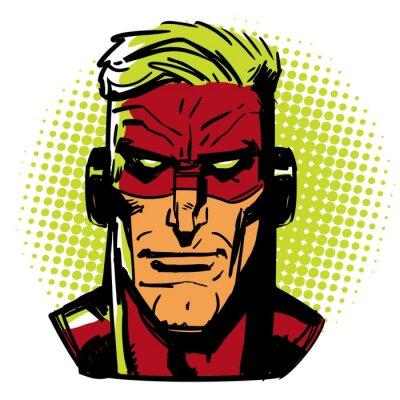 Plakat Red Hero