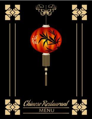 Plakat Restauracja chińska cover menu