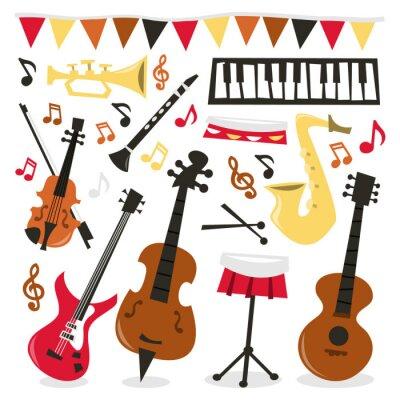 Plakat Retro Musical Party
