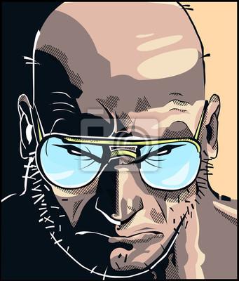 Plakat Rostro Komiks
