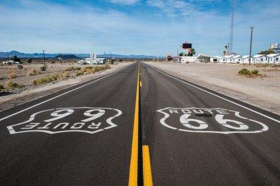 Plakat Route 66 znak