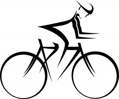 Plakat Rower Racer Accent